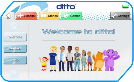 ditto Welcome